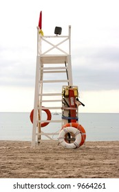 Life Guard Tower on a beach