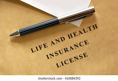LIfe and health insurance license