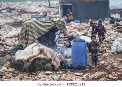 life in Idlib and refugee.14 MARCH 2018 Idlib at Syria