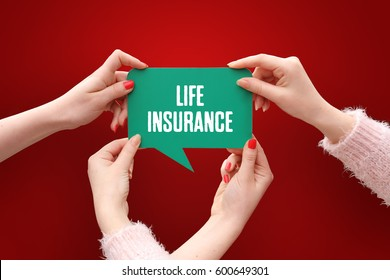 Life Insurance, Business Concept