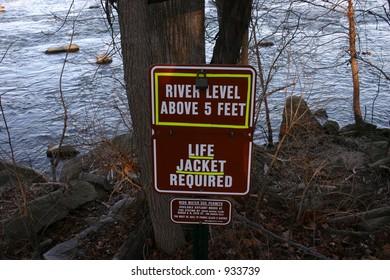 Life Jacket Warning