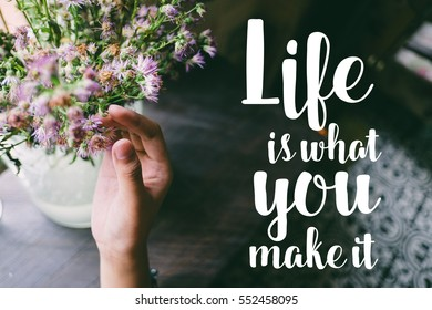Modest Life Is What You Make It Quotes Vrpe