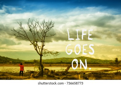 Inspirational Quotes Things End Memories Last Stock Photo Edit Now