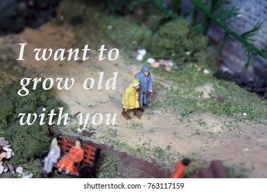 I Want to Grow Old with You Images, Stock Photos & Vectors ...