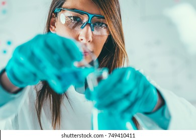 Life science laboratory work