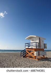 Lifeguard Cabin, Miami Beach, Florida