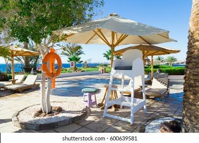 Lifeguard chair pool guard life