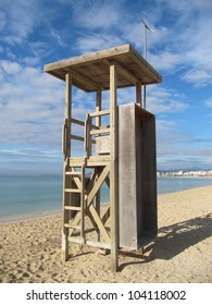 lifeguard off duty, tower observation