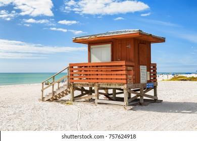 Lifeguard on a beach in Florida