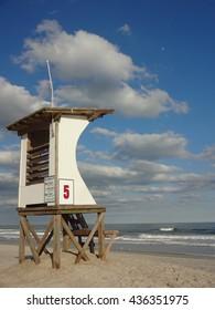 Lifeguard Station at Wrightsville Beach in North Carolina