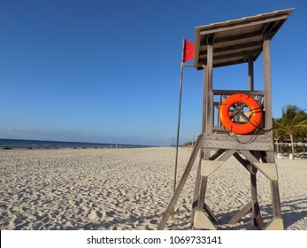 Lifeguard Tower on Red Flag Beach