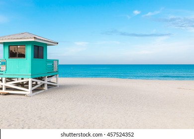 Lifeguard Tower in Venice Beach, Florida