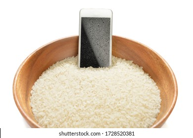 Lifehacks, digging your wet mobile phone in rice will fix it.