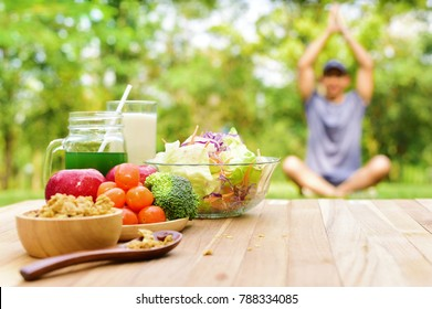 lifestyle food during yoga exercise