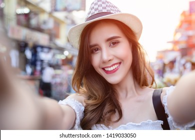 Lifestyle  image of best girls taking selfie on camera, happy emotions happy vacations, shopping day.