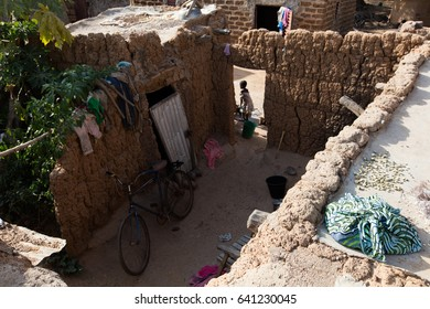 Lifestyle in Lobi traditional village, in Burkina Faso