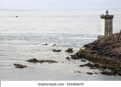 LIGHHOUSE OF LE CONQUET, IROISE SEA,FINISTERRE, BRETAGNE