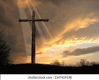 Light After Storm at the Cross of Jesus