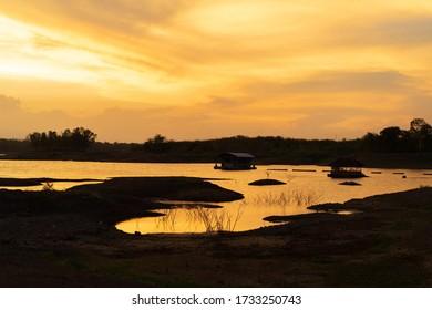Light after sunset Reservoir view