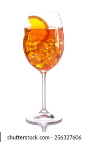 Light alcoholic drink. Spritz