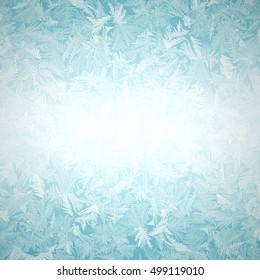 light background Frosty pattern