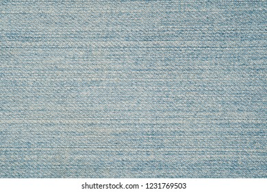 Light Blue background, denim jeans background. Close up Jeans texture, fabric.