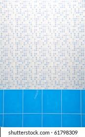 Light Blue Ceramic Wall