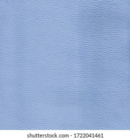 Light blue detailed background texture of leather