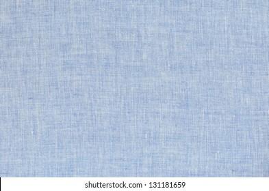 Light blue linen for background
