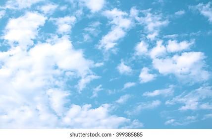 light blue in sky