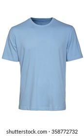 Light Blue Tshirt Template