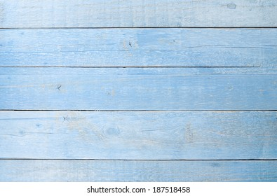 Beau Light Blue Wooden Table Texture Background