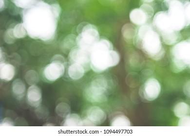 Light of bokeh on background