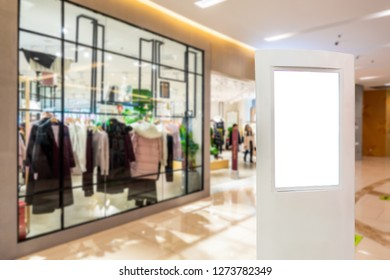 light box with luxury shopping mall