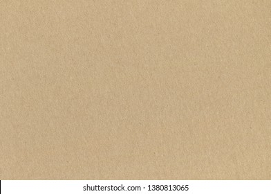 Light Brown Cardboard Texture. Background