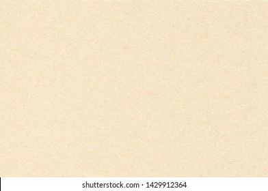 Light Brown Cardboard Texture. Simple Background