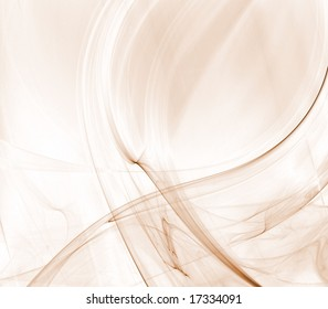 Light brown flowing collage of textures - fractal abstract background