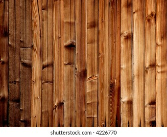 Light brown planks background
