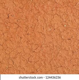 Light brown terracotta texture closeup (design element)