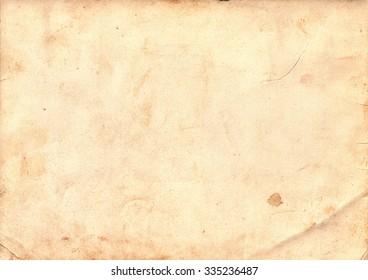 Light brown vintage paper. Vintage background