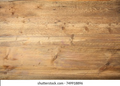 Light brown wood texture background, top view
