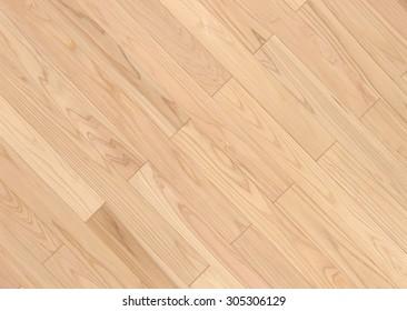 Light brown wooden ground surface