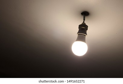 Light bulb from the ceiling, Madagascar, Africa