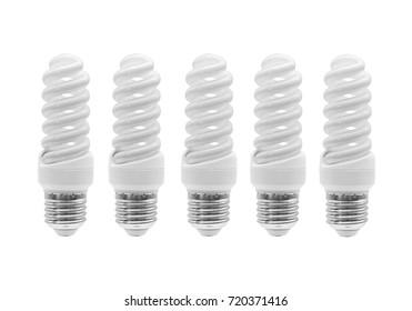 Light Bulb. Energy-saving lamps