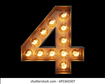 Four letter word images stock photos vectors shutterstock light bulb glowing digit alphabet character 4 four font front view illuminated number 1 symbol expocarfo