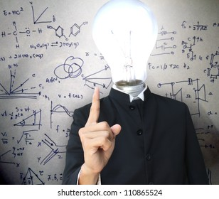 Light bulb head teach