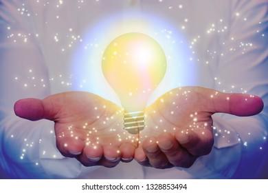 Light bulb and idea