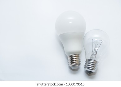 Light bulb on a gray background.