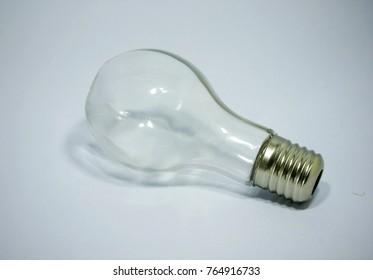 Light bulb,Light bulb isolated on white background.