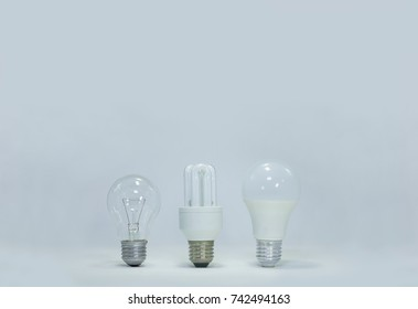 Light bulbs  old and new  generation